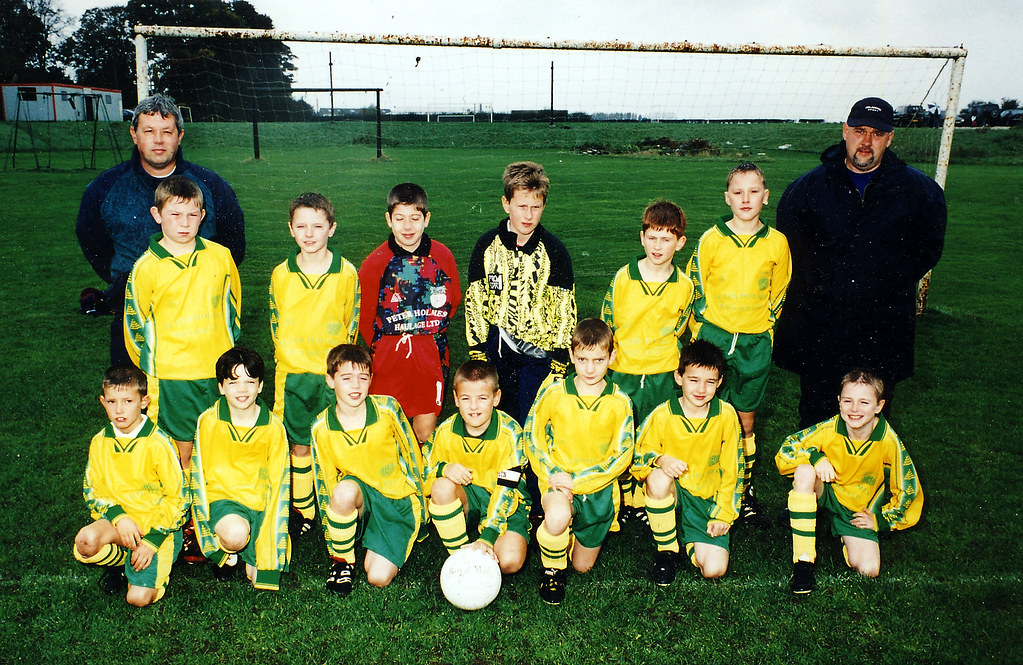 Shiptonthorpe United Under 11's November 1999
